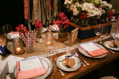 wedding reception table design ideas nashville, rustic orange pink, @Liberty Party Rental, #nashvillewedding