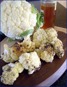 Honey Grilled Cauliflower
