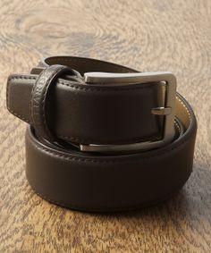 Gagliardi - Brown Luxury Plain Leather Belt - €29.00