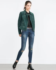 Zara SKINNY POWER STRETCH JEANS Found on my new favorite app Dote Shopping #DoteApp #Shopping