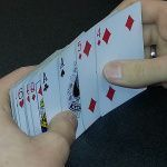 Object lesson on grattitude- playing with the cards you are dealt.
