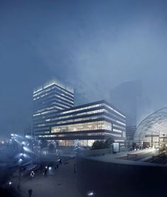 CGarchitect - Professional 3D Architectural Visualization User Community | Foggy Dusseldorf