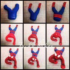ผลการค้นหารูปภาพสำหรับ spiderman tutorial in fondant