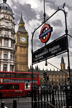 Westminster Station, London, UK