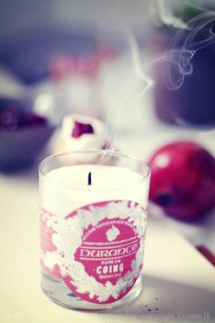 ♥ scented candles