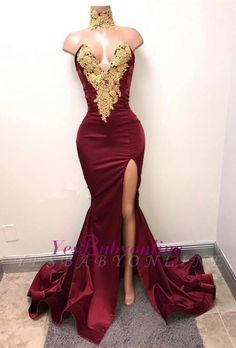 Lace Prom Dress V Neck Evening Dress Burgundy Evening Dress Evening Dress Long Prom Dress Prom Dresses Long Split Prom Dresses, V Neck Prom Dresses, Homecoming Dresses, Bridesmaid Dresses, Red Gown Prom, Lace Prom Gown, Corset Dresses, Evening Dress Long, Burgundy Evening Dress