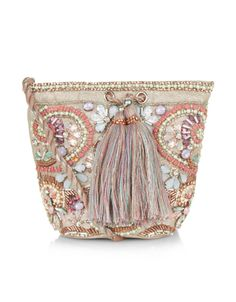 Lucy Embellished Pouch Bag | Multi | Accessorize