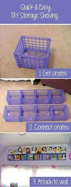 Crate organizers
