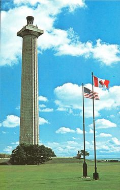 Perry's International Memorial and Peace Monument, Put-in-Bay, Ohio.  The third tallest U.S. national monument, symbolizing peace between Canada and the U.S. after the U.S. victory by Oliver Hazard Perry in the Battle of Lake Erie on September 10, 1813.