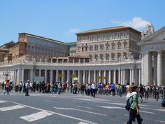 Colonnade of St Peter's Sqaure