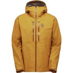 2ca22bb388 Black Diamond - Helio Shell Jacket - Men s - Curry Mens Skis