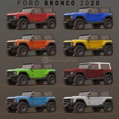 Quick modeling Based on spay photo and Bronco Baja racing team images 4 Door Bronco, Bronco Car, New Bronco, Early Bronco, 2020 Bronco, Chevy Diesel Trucks, Chevrolet Trucks, Chevrolet Impala, Ford Trucks