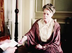 "Downton Obsession | dontbesodroopy: Maggie Smith as Violet Crawley - Downton Abbey, episode 6x09 ""The Finale"""
