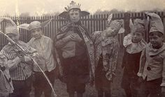 A group of elves with an elf king in 1909 by lovedaylemon, via Flickr
