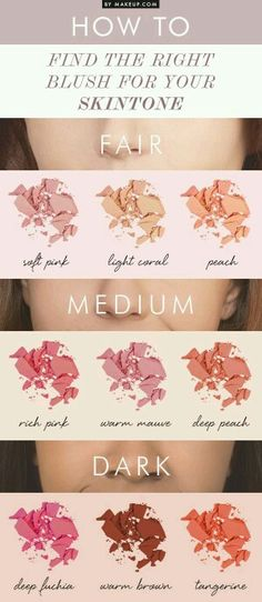 Find the right blush for your skin tone! Mary kay has a ton of different options! Marykay.com/lindsy