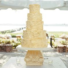 Uniquely Southern Wedding Cakes | Swirled Wedding Cake | SouthernLiving.com
