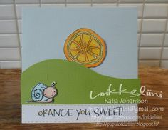 Loikkeliini: Orange you sweet