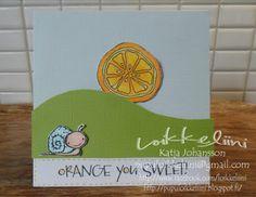 Loikkeliini: Orange you sweet