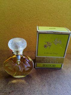 Vintage 80's Nina Ricci L' Air Du Temps Paris Eau de Toilette Spray 30ml | eBay