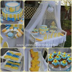 A Beautiful Babyshower Boy Theme Rubber Duck , Rubber Duckie