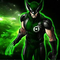 Green Latern Wolverie