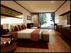 Dormitorio con vista panoramica