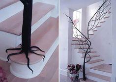 C'est sure que je me pète la gueule dans la plupart de ses escaliers... mais y'en a des très cool!!!!    50 Mind Blowing Examples Of Creative Stairs #interior #stairs #staircases