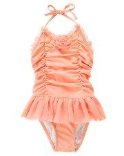 Oh how I love Janie and Jack! This little swimsuit has a matching ruched swim cap too! Avery would look just like a little doll from the 1920's. How can I convince Trav to let me buy it???