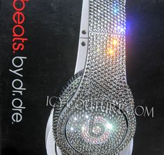 Bling Your BEATS by Dre in any Swarovski Crystal by IcyCouture, $190.00