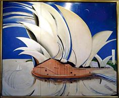 Opportune time to sell … Sotheby's has placed the highest  estimate ever for an Australian painting on Brett Whiteley's  Opera House.
