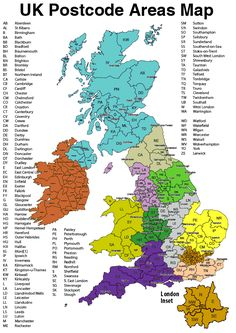 UK Postcode Maps and UK County Map Colouring Software Uk History, British History, Map Of Great Britain, Area Map, Old Maps, Historical Maps, British Isles, Collage Sheet, Fun Facts