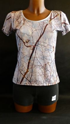 Camiseta con mangas reflejo con tejido coolmax