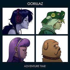 Adventure Time X Gorillaz
