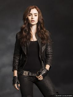 Promotional Images of Lily Collins as Clary Fray