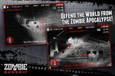 Zombie Gunship screen shot 1
