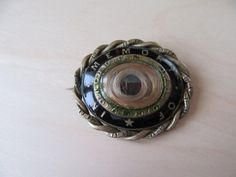 Victorian In Memory Of Mourning Brooch Pin C Clasp by GraciousGood