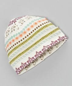 Take a look at this Filigree Beanie on zulily today!