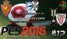 Hola Loc@s!!!  Llegamos ya a los resúmenes de las Jornada 33 y 34 de la Liga Adelante en el modo Liga Máster del PES 2015  Jugamos la Semifinal de la Copa ante el Athletic Club Bilbao en 2 emocionantes e igualados encuentros. Después de 180 minutos conseguimos el pase a la Final.  http://youtu.be/2AKr7WuGY1w