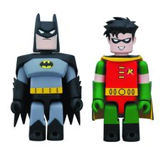 Batman Animated Series Batman & Robin Kubrick 2-Pack pre-order