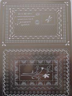 SIESTA DESIGNER GRID - HAPPY BIRTHDAY      Happy Birthday / Anniversary / Congratulations / Best wishes - Alison Yeates Designer Grid (210x149mm)