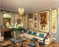 Savonnerie rug in the Salon, Villa Trianon, France - Elsie de Wolfe interior Elsie De Wolfe, Best Interior, Modern Interior Design, Chinoiserie, Colonial, Architecture Design, Victorian Architecture, Famous Interior Designers, Villa