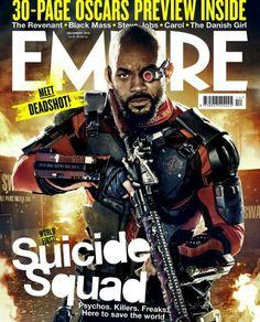 Empire Magazine Deadshot Suicide Squad