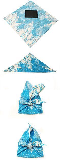 Wrap a ipad #Furoshiki #Gift #Wrapping #Ecology