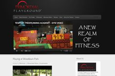 www.PrimordialPlayground.com    Ramman Turner is a mover, a dancer, and a personal trainer. His fitness classes incorporate his unique movement philosophy, and he wanted a website that could serve as the platform for his ideas.  Primordial Playground needed more than just a WordPress-powered website; he needed logo design, email newsletter architecture, and formatting and design of his new ebook.