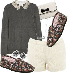 by gilligansarmy on Polyvore featuring moda, Milly, Warehouse, TOMS, Forever 21 and Style Tryst