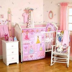 disney princess crib by summer infant | ... Princess Cheap Nursery Crib Bedding Set For Your Baby | Discount