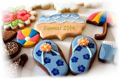 (2) Cookie Deco. Fun on Facebook