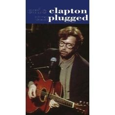 Unplugged [VHS]. This laid-back, live, intimate session featuring Eric Claptons  bluesy guitar playing is quite enjoyable--if a bit limited in scope. With little lighting and frills and a small group backing him up, Clapton picks up his acoustic guitar and leads the  listener down memory lane. Clapton is clearly on his best behavior as he engages in minimal small talk with his audience and lets the music speak for itself. The former member of Small Faces and Cream riffs through some dozen-