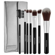 What it is: A seven-piece brush set treated with a cutting-edge antimicrobial technology, that keeps brushes fresher for longer and is suitable for even the most sensitive skin.  What it does:  Each of these professional-quality brushes is treate