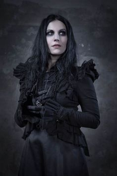 Cristina Scabbia - Terrorizer Magazine Pictorial [United Kingdom] (October 2013)